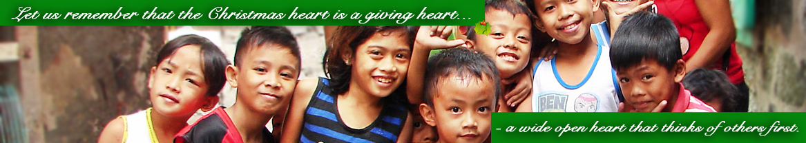 Give from the Heart, Give Love on Christmas