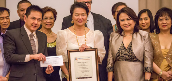 ANCOP receives $3K donation from the Philippine ConGen in Toronto