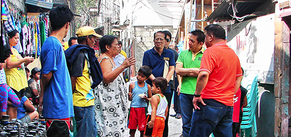 Ricky Cuenca visits ANCOP sites