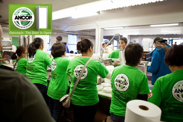 ANCOP Vancouver Feeds 250 Poor Residents of Downtown East Side Vancouver