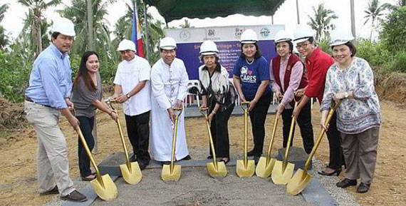 Haiyan survivors to be gifted new homes