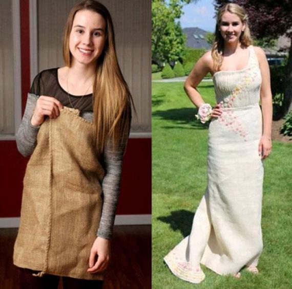 Burlap grad dress helped Vancouver teen raise over $15K for ANCOP scholars