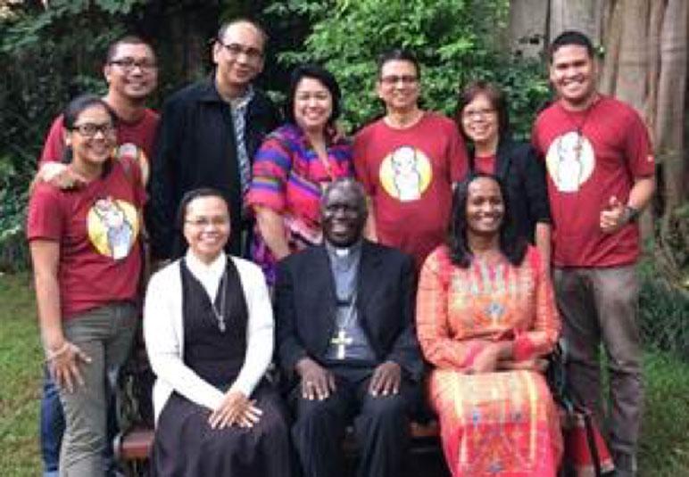 With Bishop Anyulu