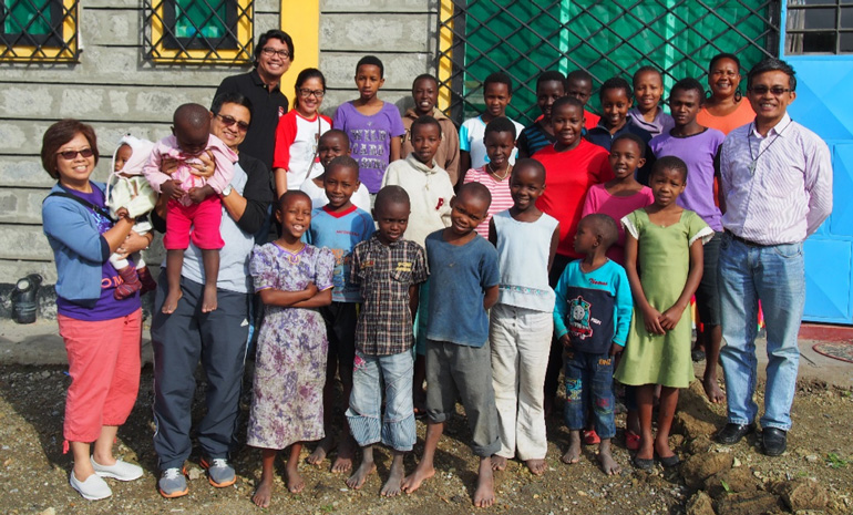 ANCOP Canada embraces the work of The Nazareth House, home for Kenyan orphans