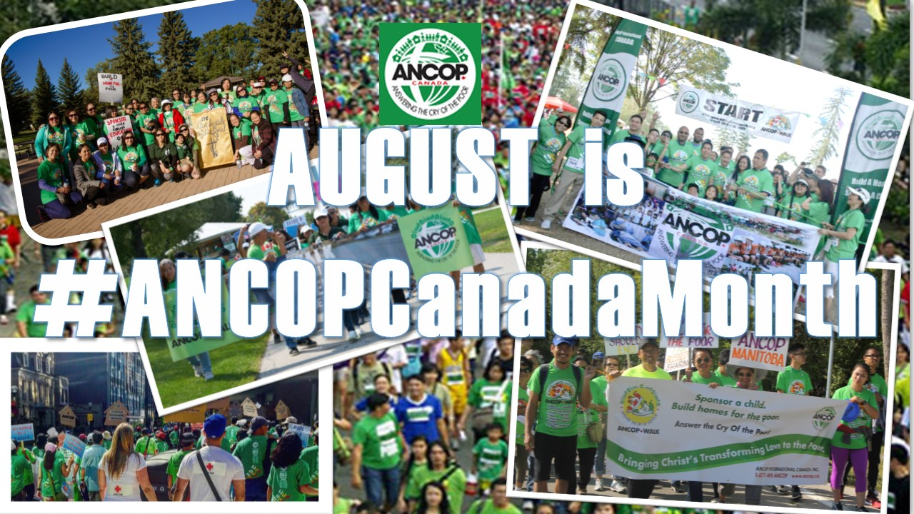 August is ANCOP Canada Month