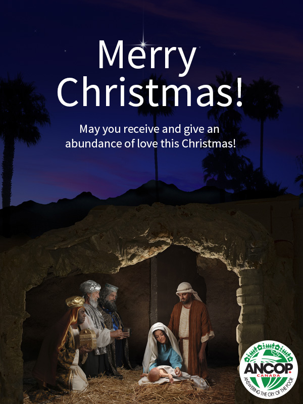 Christmas Message from our ANCOP President