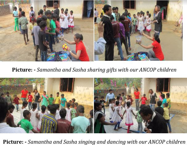 ANCOP CSP Donor Meets Sponsored Child in India