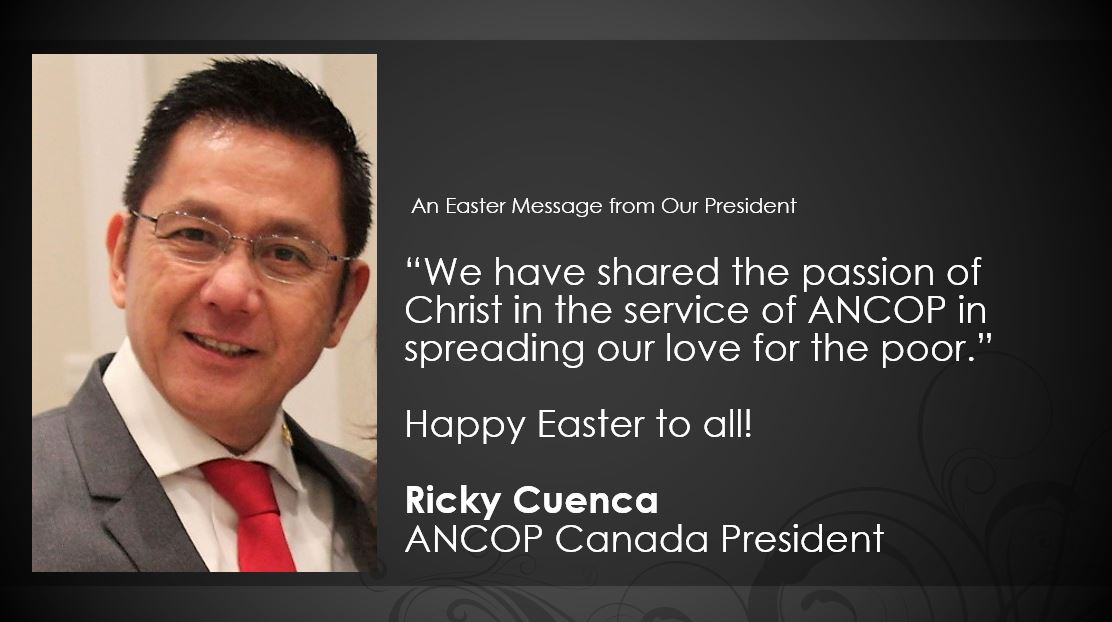 An Easter Message from Our President