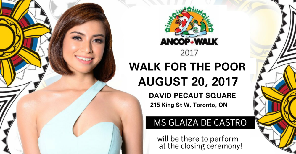Popular GMA Star to Perform at ANCOP Walk Closing Ceremonies