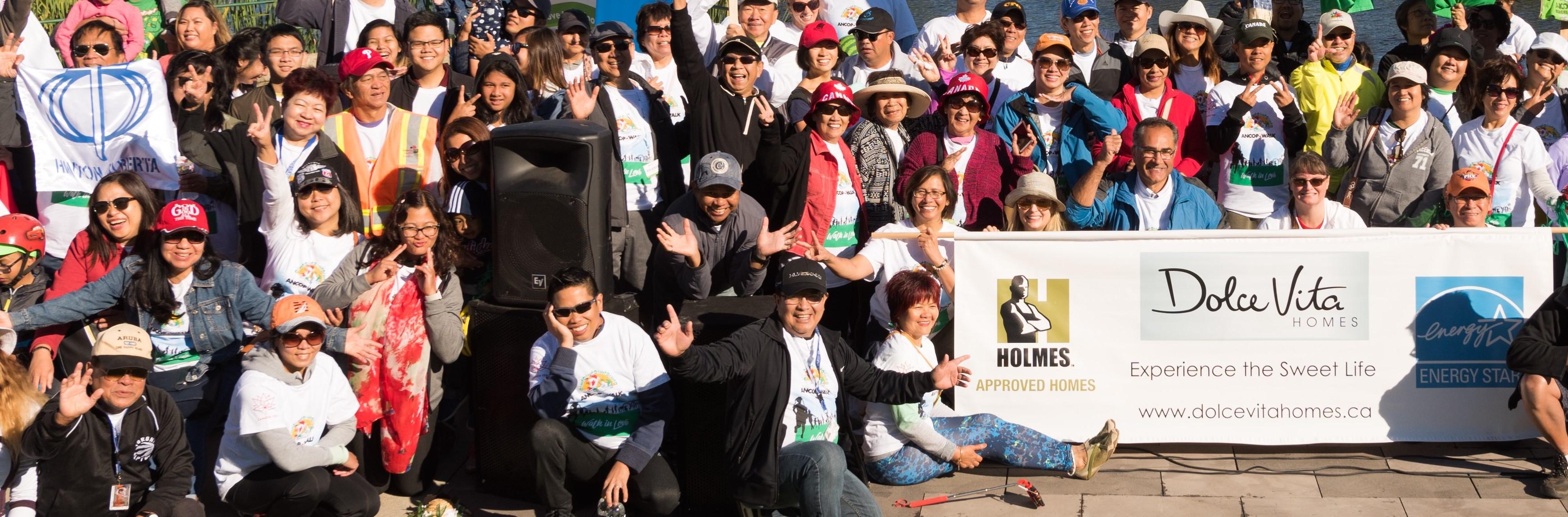 Edmontonians Walk for a Noble Cause
