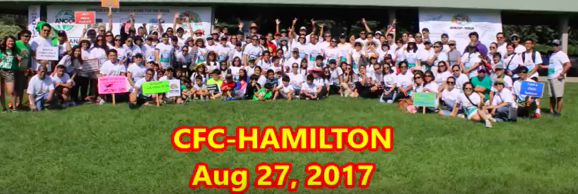 ANCOP Walk 2017 Ends with Hamilton's Walk Along the Beach