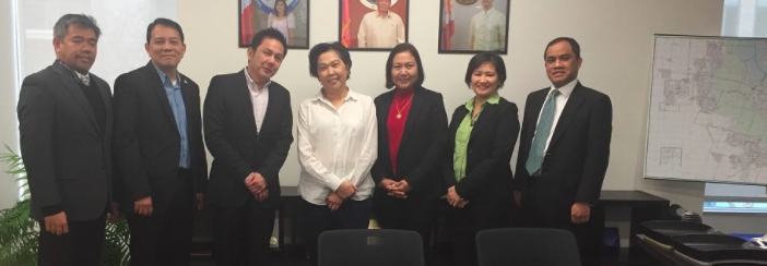 CFC ANCOP International (Canada) Officers called on Ambassador Petronila P. Garcia