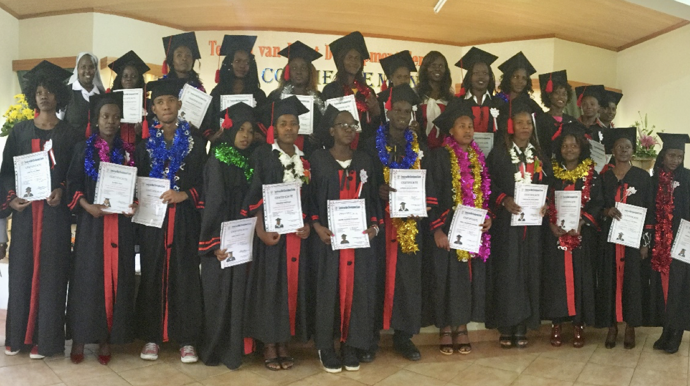 26 Out of School Youth Graduated from ANCOP One-Year Vocational Course in Kenya