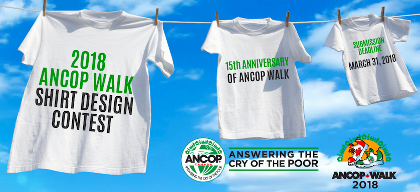 ANCOP Walk 2018 Shirt Design Contest Launched!