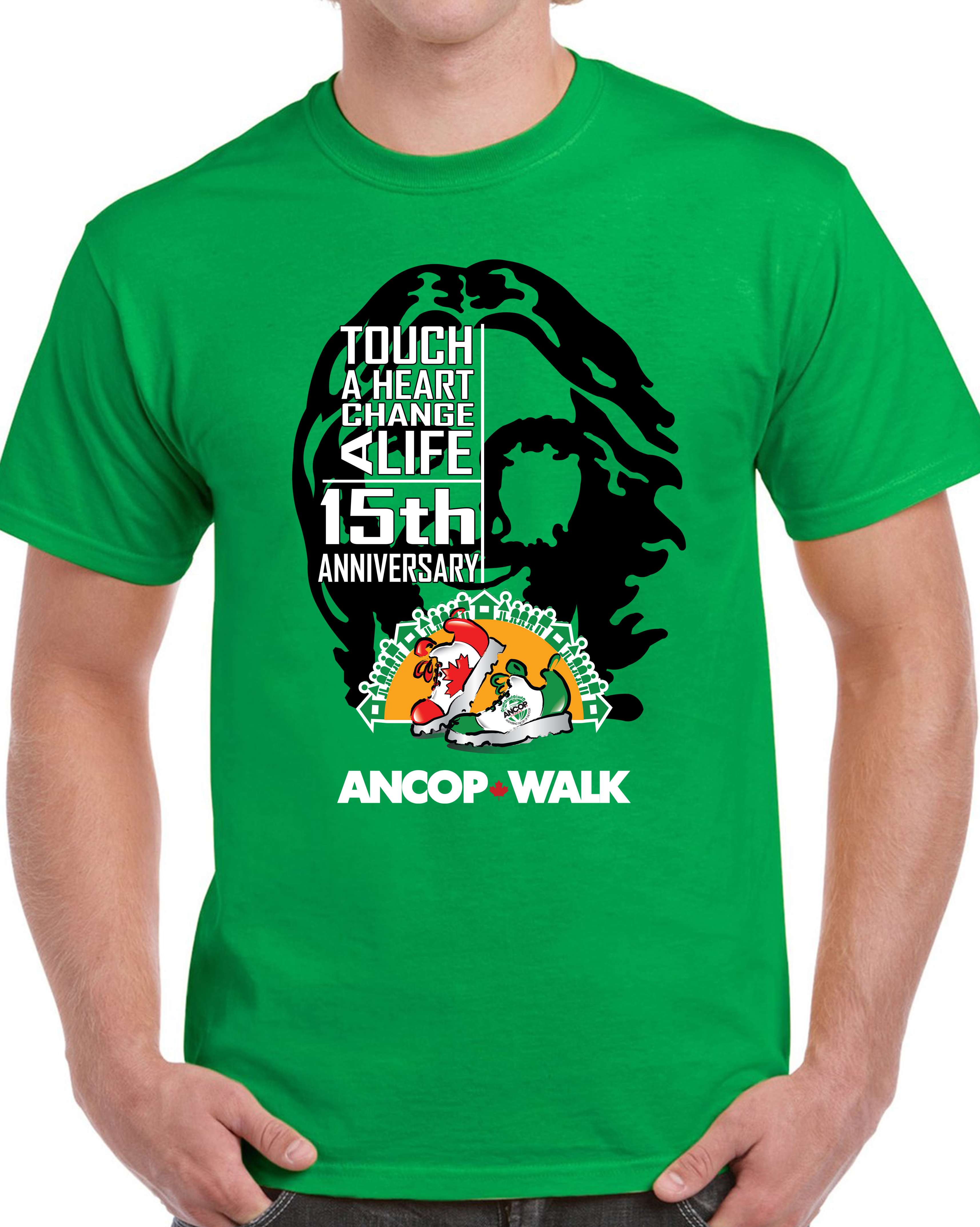 Ancop Walk 2018-Shirt Green (3)