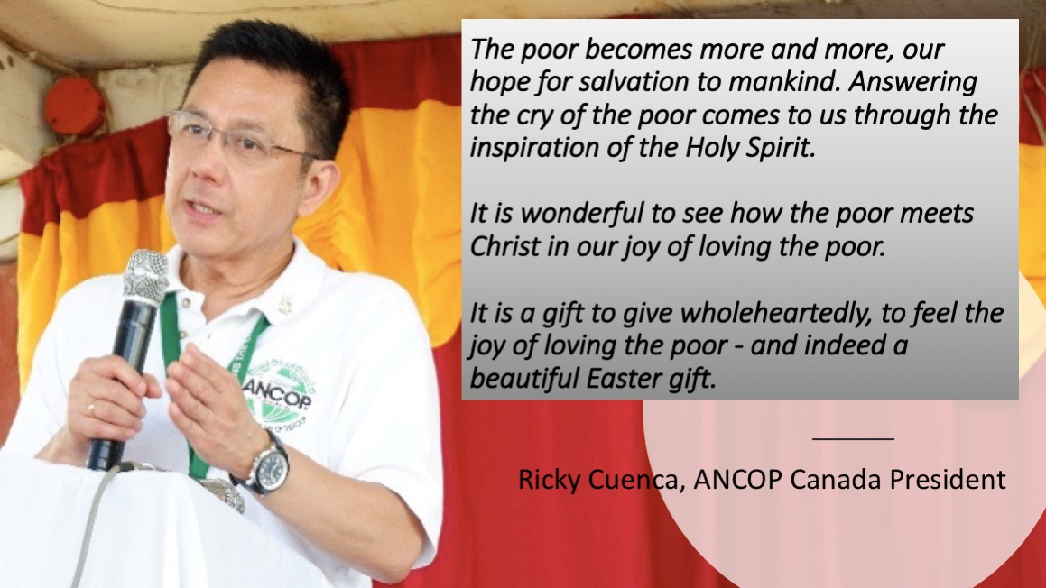 Ricky Cuenca Easter Message 2018