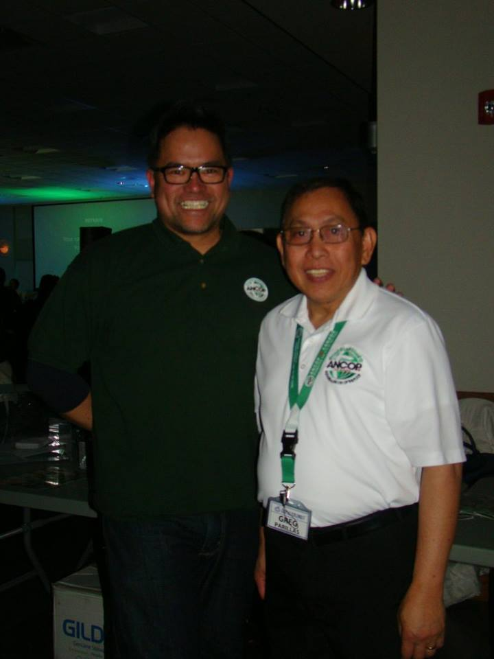 Don Villaflor and Greg Parillas at the 2018 AW Launching Edmonton (1)