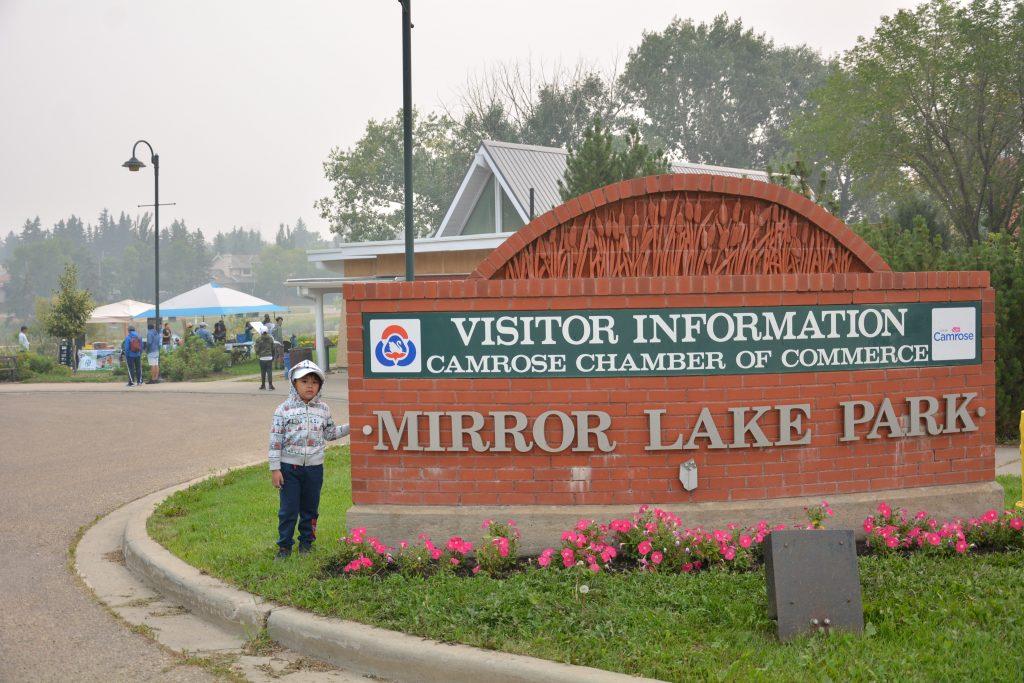 Mirror Lake Park Entrance