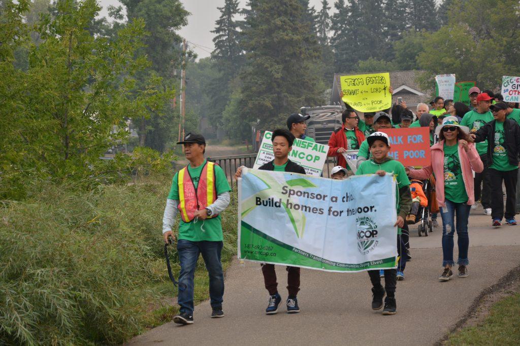 YFC leading the Walk (1)